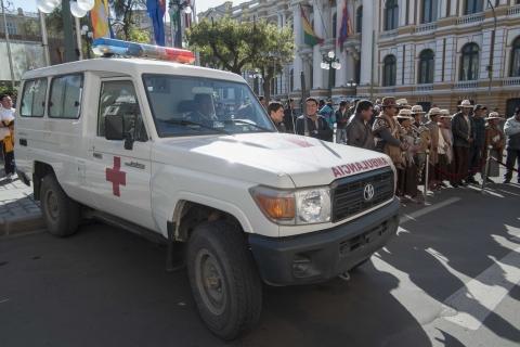 AZURUDY: Hospital municipal, dispondrá de ambulancia para traslado gratuito de enfermos