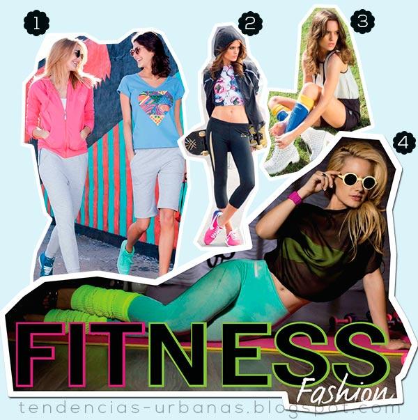 Indumentaria deportiva femenina de moda 2013