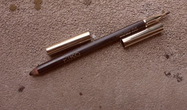 Review: Kiko Smoky Eye pencil in Graphite