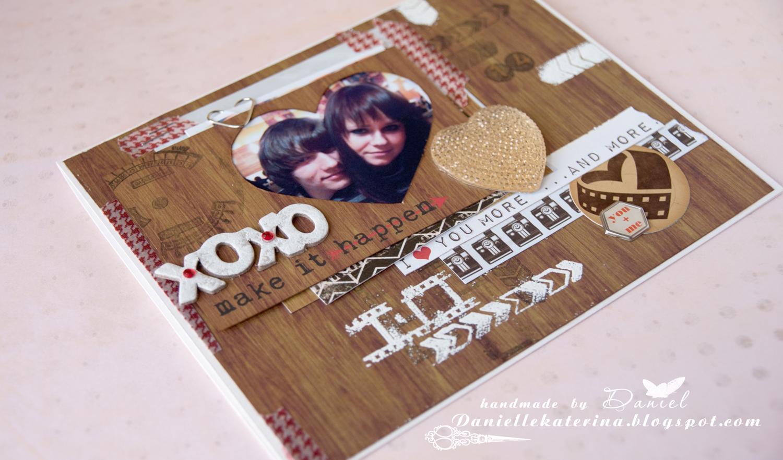 открытка+любовь+скрапбукинг