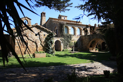 Castle of Pals in La Costa Brava