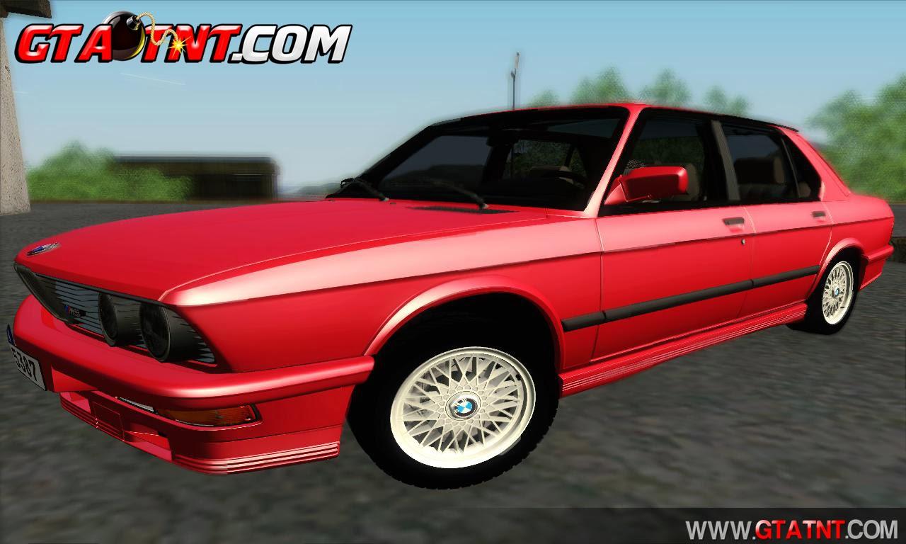 GTA SA - BMW M5 E28