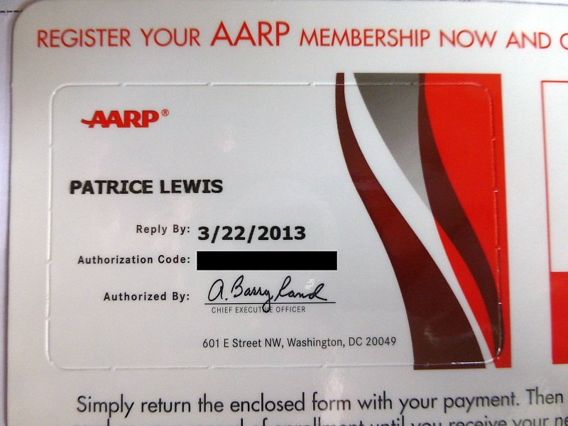 AARP Cell Phone Offer