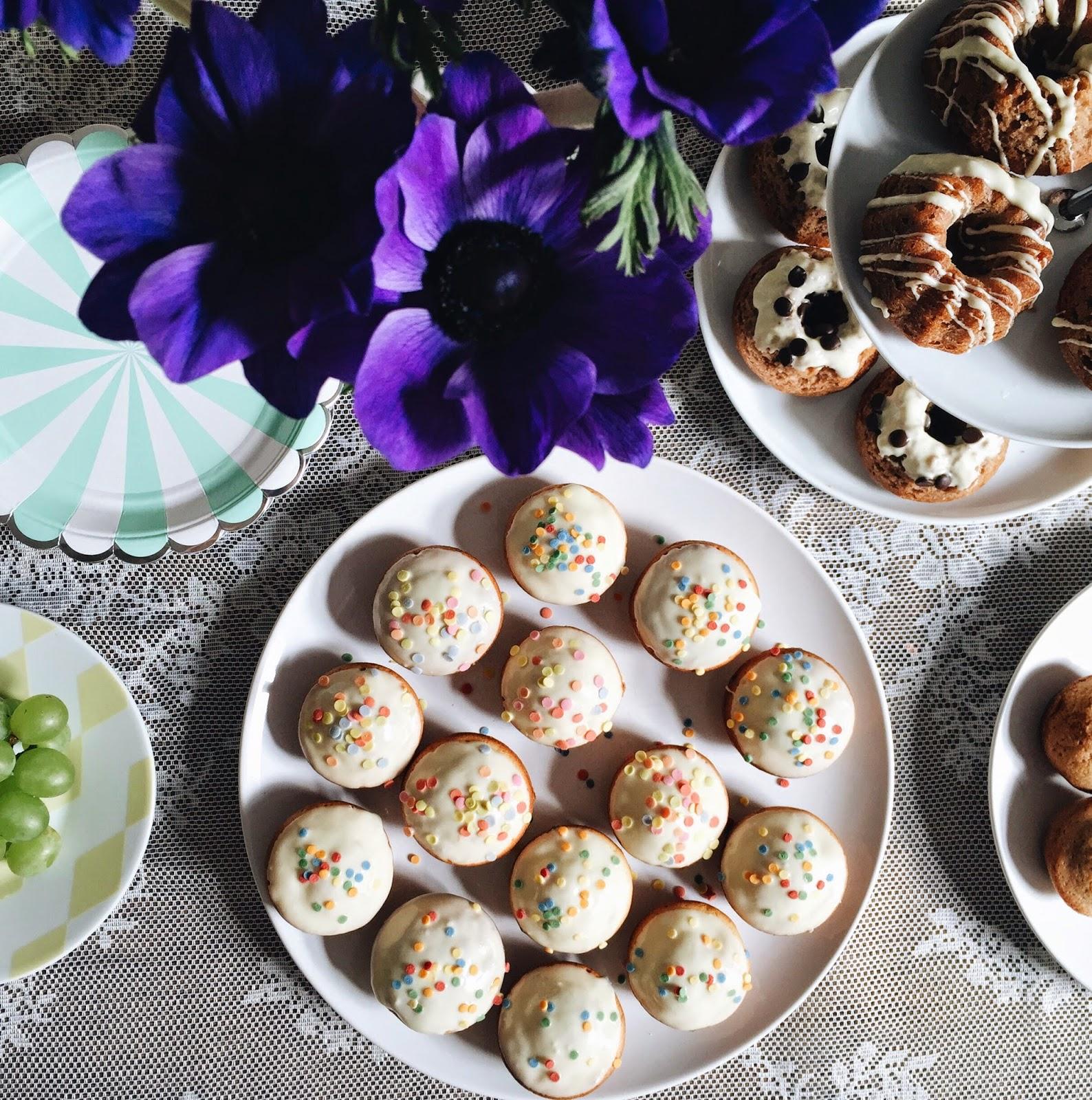 birthday cakes and muffins by ninotschka