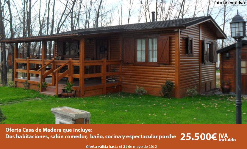 Casas de madera precios y ofertas daype tattoo design bild for Precios cabanas de madera baratas
