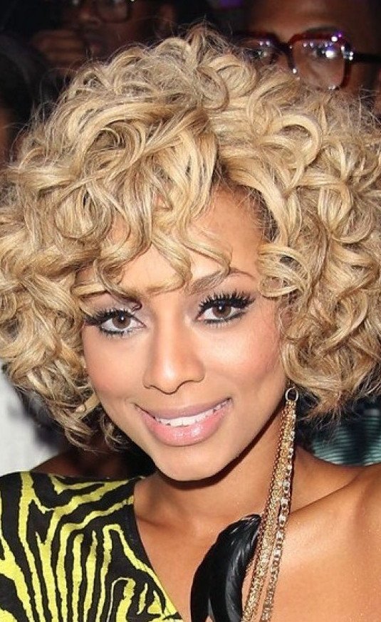 cool wavy show keri hilson short wavy style wig on