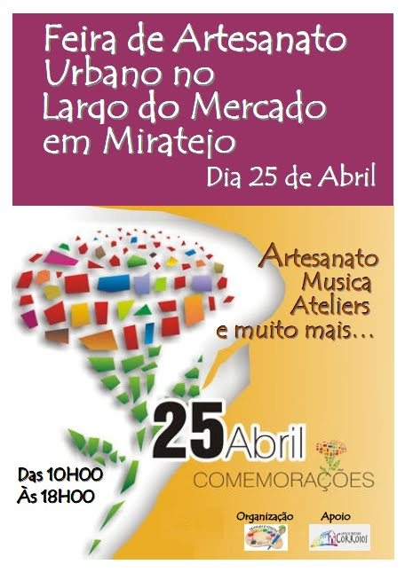 25 de Abril - Mostra de Artesanato