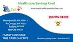 FREE RX Savings Card