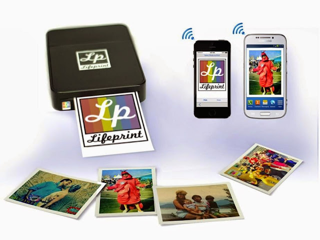 Must Have iPhone Photography Gadgets - LifePrint Wireless Photo Printer