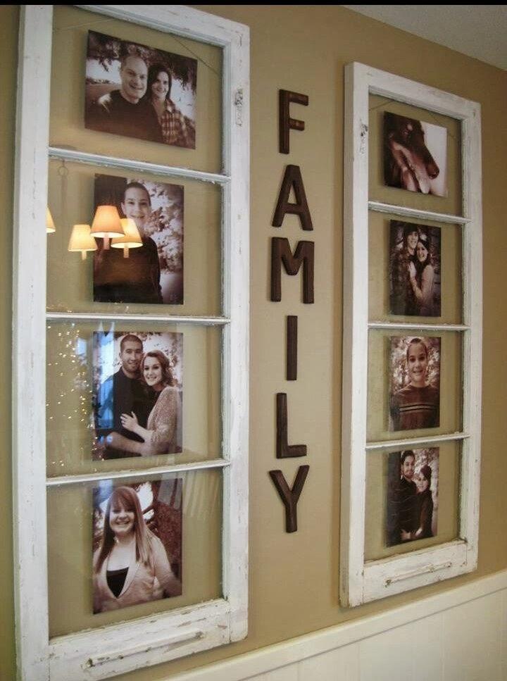 Как сделать семейную рамку для фото своими руками
