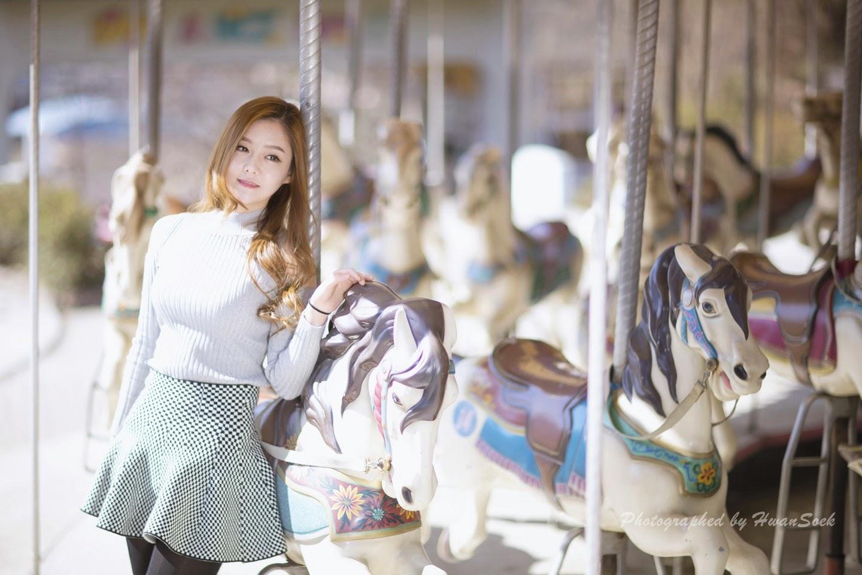 5 Pretty Yu Jin In Outdoors Photo Shoot - very cute asian girl-girlcute4u.blogspot.com