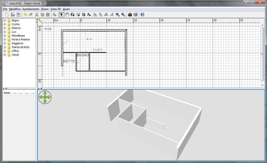 Disegnare cucina 3d gratis arredokasa with disegnare for Generatore di piano di pavimento online gratuito