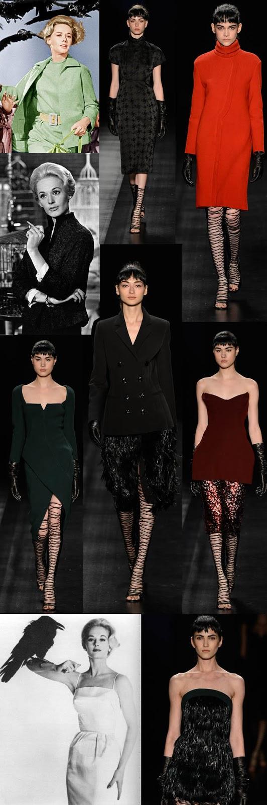 SPFW + OS PÁSSAROS DE HITCHCOCK_Isabeli fontana_ vestido com penas_vestido com decote vintage_vestido vintage_vestido vermelho_Vestido verde_