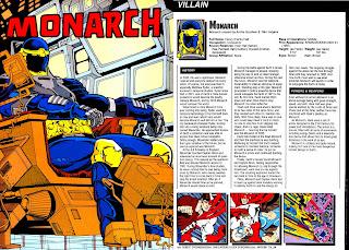Monarca Ficha DC Comics