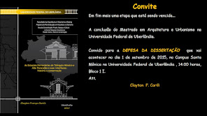 DEFESA MESTRADO PROF. CLAYTON - CONVITE