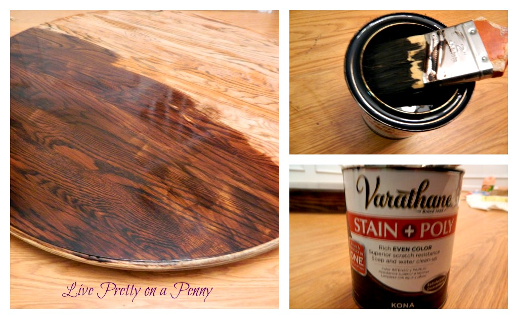 how to: refinishing a table