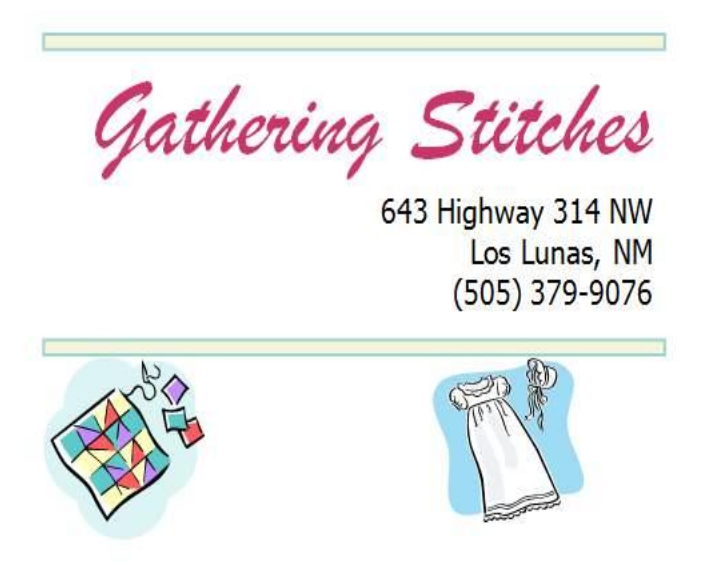 Gathering Stitches