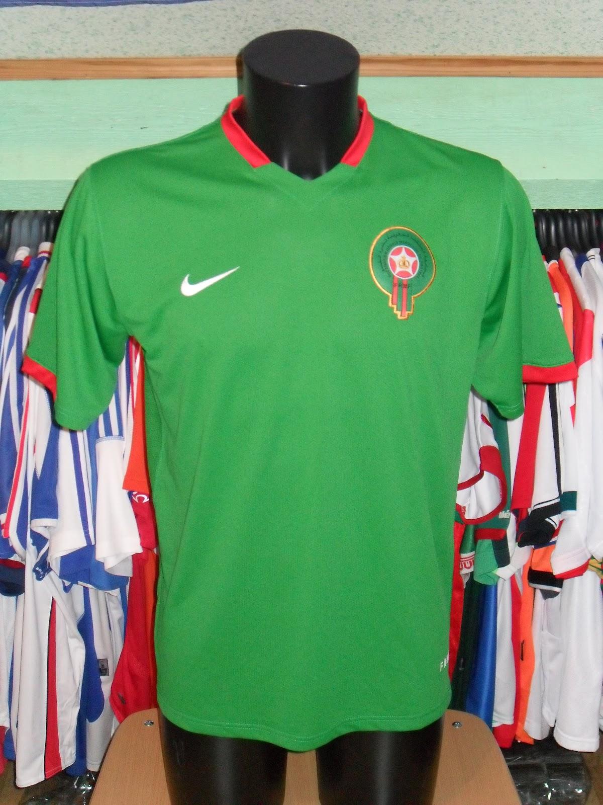 Mon grenier maillots maroc al maghrib morocco 2006 - Maroc coupe du monde 1998 ...