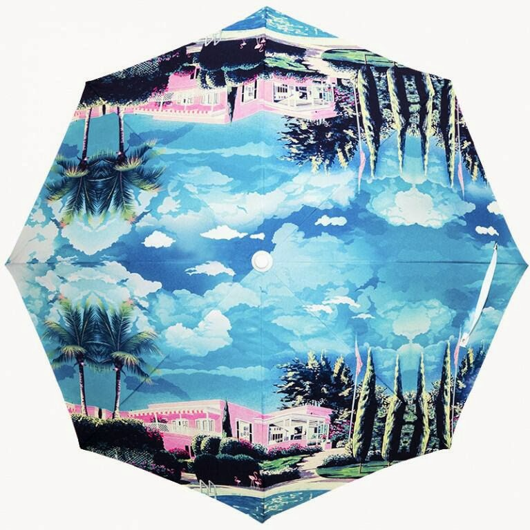 We Are Handsome x Basil Bangs  Beach Umbrella