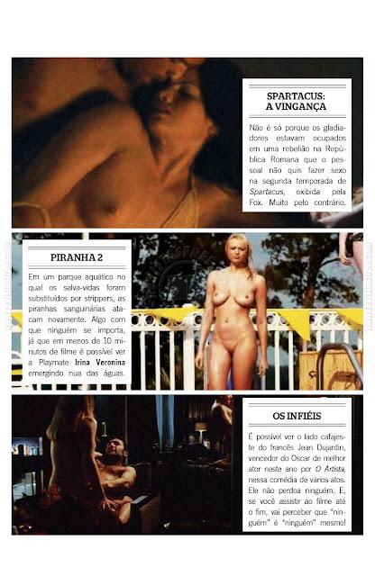 Revista Playboy Capa D Bora E Denise Tubino Dezembro Editora