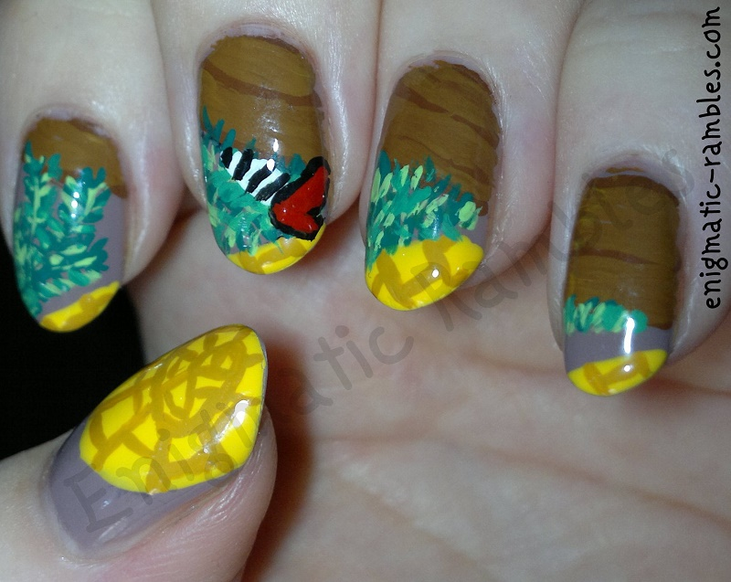 Halloween-Wizard-of-Oz-Nails-Dorothy-Murders-Witch-with-house-leighton-denny-supermodel