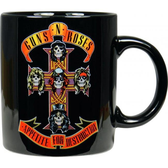 Taza Guns N Roses Appetite for Destruction