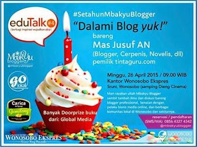 diskusi blog mbakyublogger