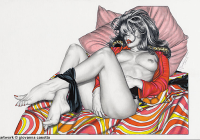 Dibujos-Pinturas Eroticas y Realistas Contemporaneas Giovanna Casotto