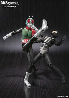 Bandai SH Figuarts Kamen Rider Shocker Combatmen Figure