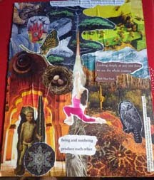Renew and Release:  Collage as part of the Healing Process