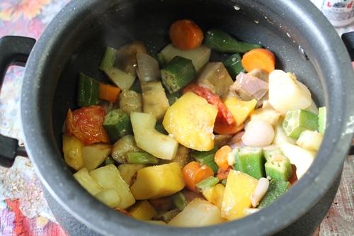 how to make vegetable dal sambar