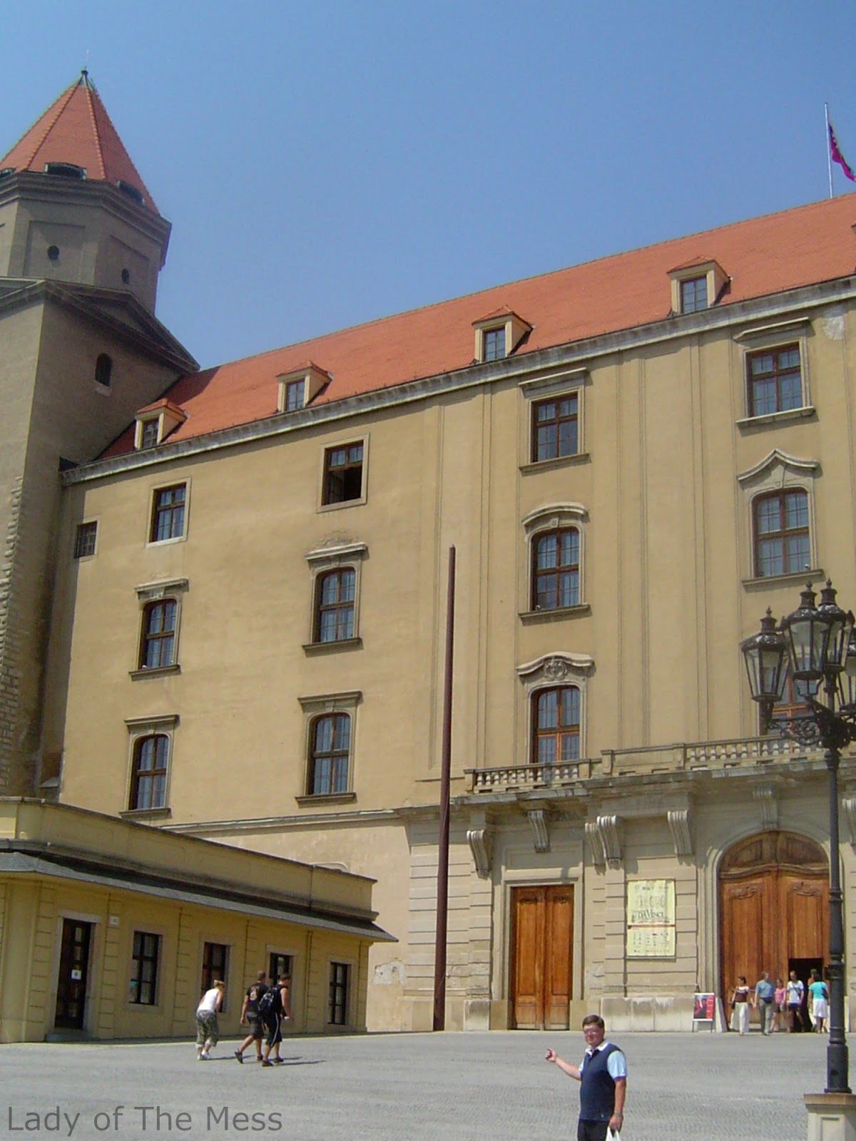Bratislavan linna, loma