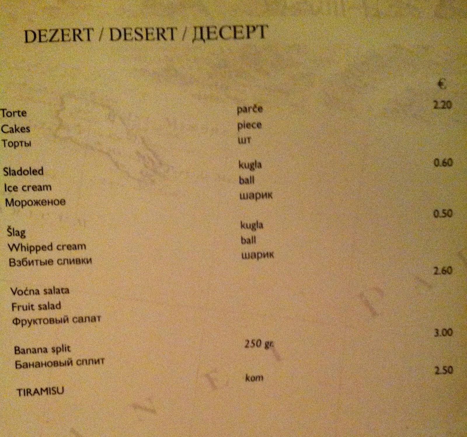 Restaurants Along Kotor Bay