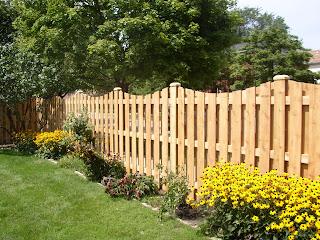 Деревянный забор. Фото 96