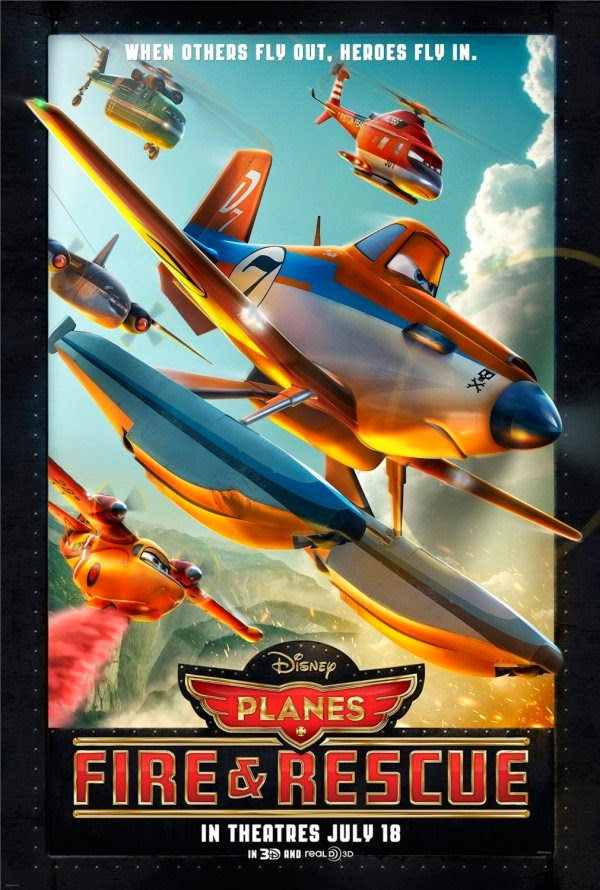 Film Planes Fire and Rescue 2014 di Bioskop