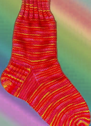Easy Sock Knitting Pattern : inspiration and realisation: DIY fashion blog: DIY and a ...