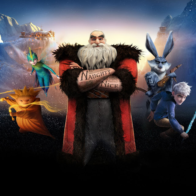 Rise of the Guardians iPad wallpaper 1