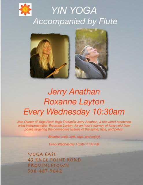 Wednesdays - Yin Yoga 1030am at Yoga East