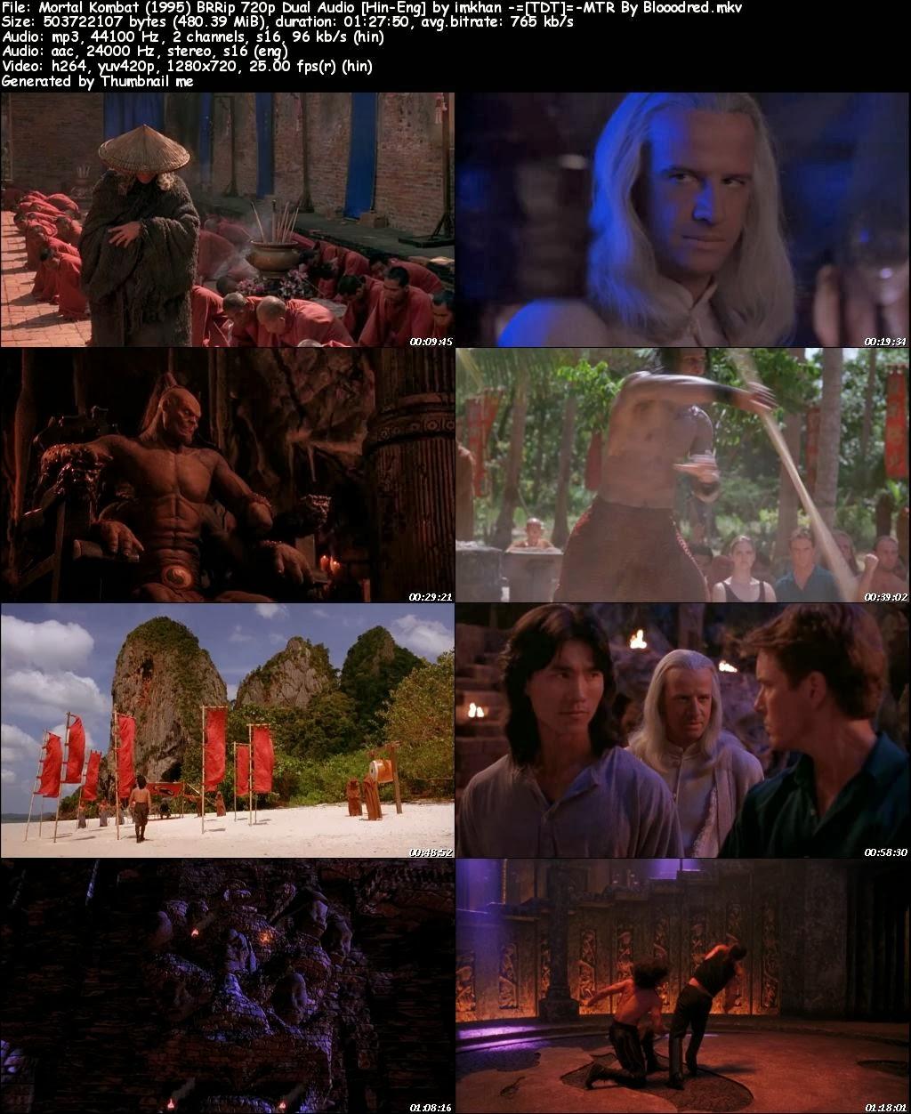 James Free World: Mortal Kombat (1995) BRRip 720p Dual