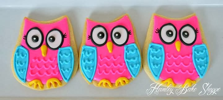 owl always love you cookies for valentines