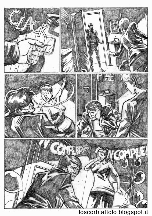 all in pazzi per il fumetto vincitore 2014 matite mirko treccani pagina 4
