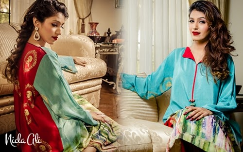 Nida Ali Rangrez Collection'14