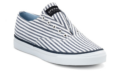 Striped Sperry Top-Siders