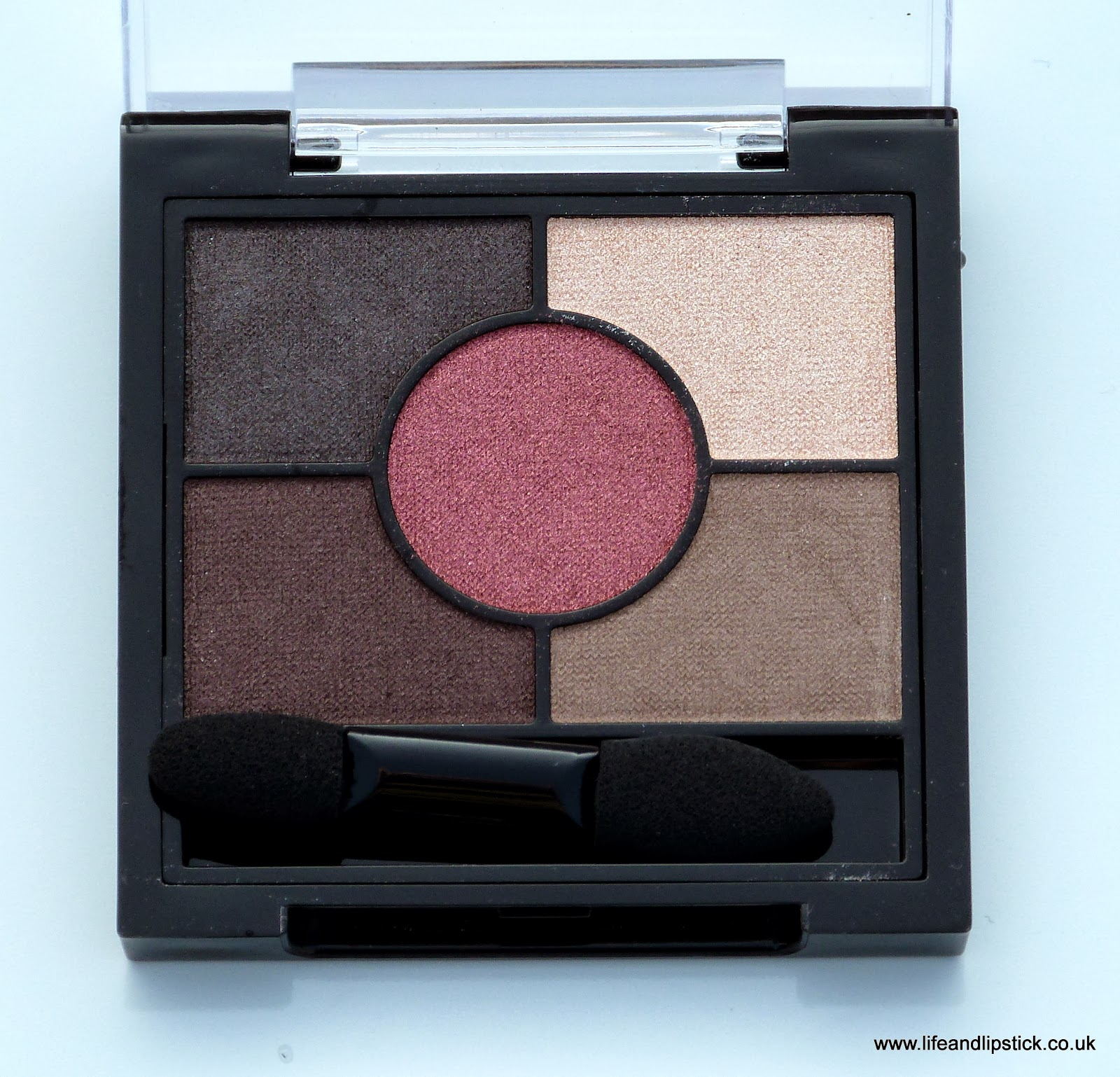 Rimmel London Eyeshadow Palette Brixton Brown