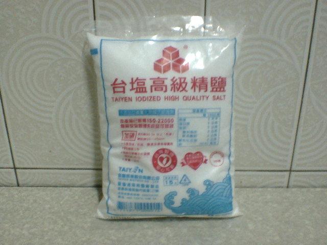 台鹽高級精鹽 1 包
