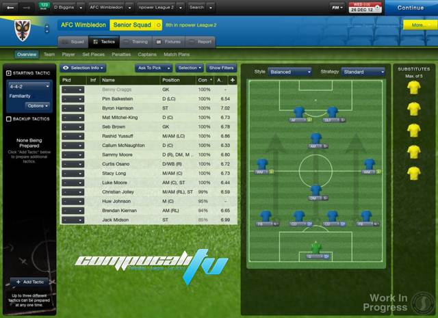 Imagenes Football Manager 2013 PC Skidrow