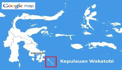 Lokasi Taman Nasional Wakatobi