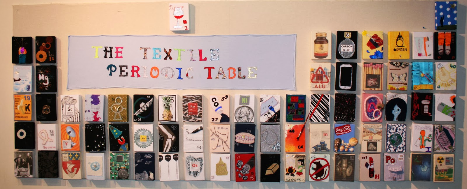 at long last the periodic table is complete and it looks fantastic the girls worked very hard to create this collaborative piece with each girl in year 9 - Periodic Table Project
