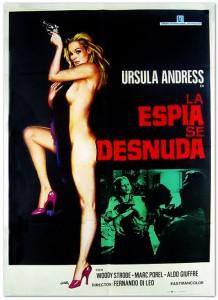 La Espía se Desnuda