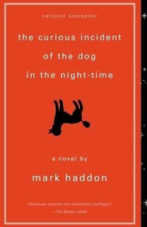 Book Cover of The Curios Incident of the Dog in the Night-time by Mark Haddon